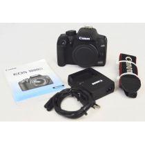 Canon EOS 1000D Body SLR-Digitalkamera gebraucht (10 Megapixel, Live-View) schwarz