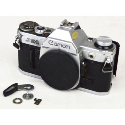 Canon AE-1 analoge Kamera DEFEKT, Bastlerware