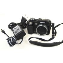 Sony DSC-V3, gebrauchte Digitalkamera (7,2 Megapixel), schwarz