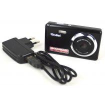 Rollei Compactline 83 Digitalkamera OVP gebraucht (8 Megapixel, 8-fach dig. Zoom, (2,7 Zoll) LCD-Display) rosa-schwarz