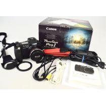 Canon PowerShot Pro 1 Digitalkamera gebraucht OVP (8 Megapixel, 7-facher Zoom) schwarz