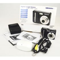 Medion MD 85559 gebrauchte Digitalkamera (7 Megapixel), schwarz