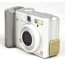 Canon PowerShot A70 Digitalkamera gebraucht (3,2 Megapixel) silber