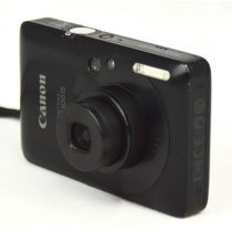 Canon Digital IXUS 100 IS Digitalkamera gebraucht (12 Megapixel, 3-fach opt. Zoom, HDMI, SLIM) rot