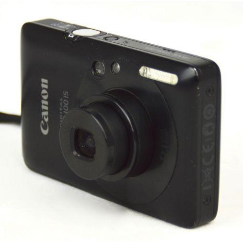 Canon Digital IXUS 100 IS Digitalkamera gebraucht (12 Megapixel, 3-fach opt. Zoom, HDMI, SLIM) rot
