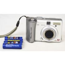 Canon PowerShot A85 DEFEKT (4 Megapixel), silber