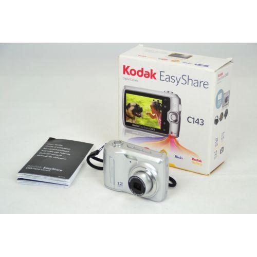 Kodak EASYSHARE C 143 Digitalkamera gebraucht OVP (12 Megapixel) silber