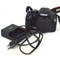 Canon EOS 550D Body SLR-Digitalkamera gebraucht (18 Megapixel, LiveView), schwarz