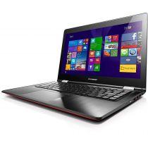 Lenovo Yoga 500-14IBD (80N400BRGE) 14 Zoll Full HD rot ohne Netzteil 4GB 500GB HDD Win 10