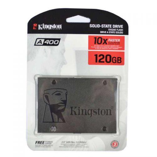 Kingston SA400S37 120G SSD (Solid State Drive) 120GB 2,5 Zoll