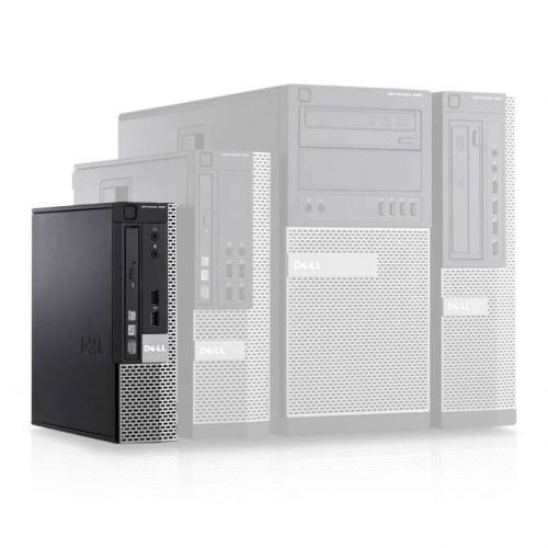 Verbazingwekkend Dell OptiPlex 790 USFF Ultra Small Desktop PC Intel i3-2120 3.3GHz TO-85