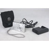 Sony Steady-Shot DSC-W180, 10,1 Megapixel, Digitalkamera gebraucht, silber