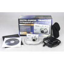 Traveler Super Slim XS 70 (7,0 Megapixel) gebrauchte Digitalkamera mit OVP