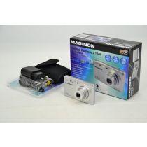 MAGINON Z 1600 Digitalkamera gebraucht (16.1 MP, HD 720p 5xfach opt.Zoom, Videofunktion) silber