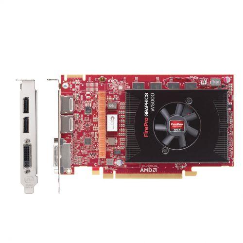 AMD FirePro w5000 Grafikkarte 2GB GDDR5 PCIe 3.0 DVI-I 2xDP Dual DisplayPort