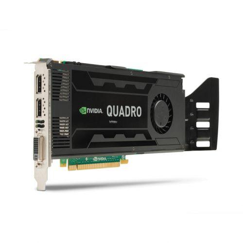nVidia Quadro K4000 3GB GDDR5 DVI 2x DP DisplayPort PCI-E PCIe x16 CAD Rendering