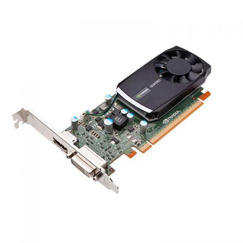 nVidia Quadro 400 Grafikkarte 512MB DDR3 PCI Express 2.0 x16 1x DVI-I 1x DP