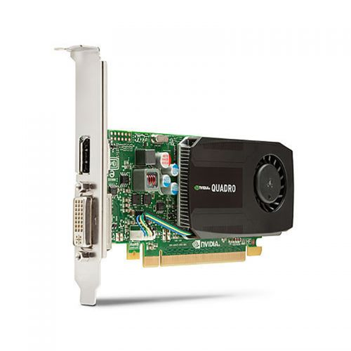 nVidia Quadro K600 full height Grafikkarte 1GB GDDR3 PCI Express 2.0 x16 1x DVI-I 1x DP