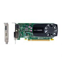 nVidia Quadro K620 low profile SFF Grafikkarte 2GB GDDR3 PCI Express 2.0 x16 1x DVI-I 1x DP