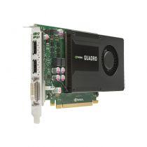 nVidia Quadro K2000 Grafikkarte 4GB GDDR5 PCI Express 2.0 x16 1x DVI-I 2x DP