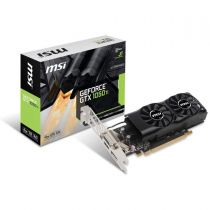 nVidia MSI GTX 1050 TI Grafikkarte 4GB GDDR5 PCIe 3.0 x16 DVI-D DP HDMI