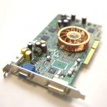 AMD Radeon 9800 XXL Grafikkarte 128MB DDR1 PCI Express x16 1x DVI-I 1x VGA