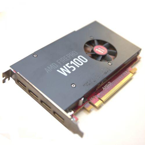 AMD FirePro w5100 Grafikkarte 4GB GDDR5 PCI Express 3.0 x16 4x DP