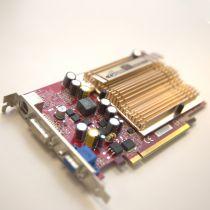nVidia GeForce 6600 LE Grafikkarte 256MB GDDR3 PCI Express x16 1x DVI-I 1x VGA
