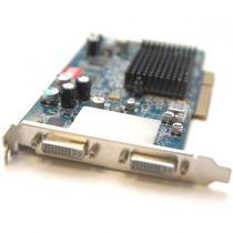 AMD Radeon 9600 Pro Grafikkarte 256MB DDR1 PCI Express x16 2x DVI-I