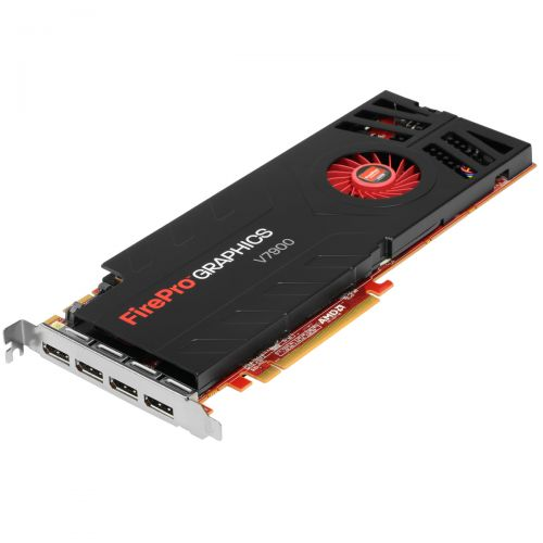AMD FirePro v7900 Grafikkarte 2GB GDDR5 PCI Express 2.0 x16 4x DP