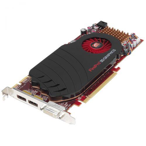 AMD FirePro v7750 Grafikkarte 1GB DDR3 PCI Express 2.0 x16 1x DVI-I 2x DP