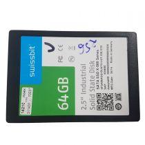 Swissbit SSDx-500 Series SSD (Solid State Drive) 64GB SSD 2,5 Zoll SATA III 6Gb/s
