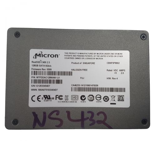 Micron RealSSD C400 128GB SSD (Solid State Drive) 128GB SSD 2,5 Zoll SATA III 6Gb/s
