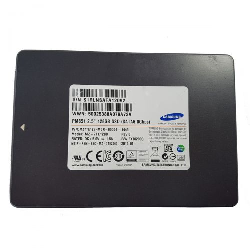 Samsung MZ7TE128HMGR SSD (Solid State Drive) 128GB SSD 2,5 Zoll SATA III 6Gb/s