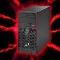 Fujitsu Esprimo P520 Gaming PC i5-4590 SSD 16GB RAM GeForce GTX1050Ti Win10