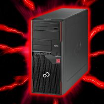 Fujitsu Celsius W410 Gaming PC i5-2400 8GB 500GB nVidia GeForce GT1030 Win10