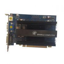 nVidia GeFORCE 9500GT Grafikkarte 1GB DDR2 PCI Express 2.1 x16 1x DVI-D 1x VGA