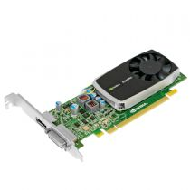 nVidia Quadro 600 Grafikkarte 1GB DDR3 PCI Express 2.0 x16 1x DVI-I 1x DP