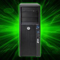 HP Z420 Gaming PC Quad-Core 4C Xeon E5-1620 SSD 16GB RAM GTX 1060 6GB Win10