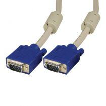 VGA D-Sub Kabel (10 Stück) 1,8m für Monitor, Notebook, TV, TFT Sparpack
