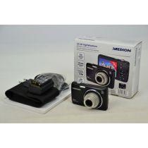 MEDION LIFE P44003 Digitalkamera gebraucht OVP DEFEKT (20 MP, 5 × optischer Zoom) schwarz