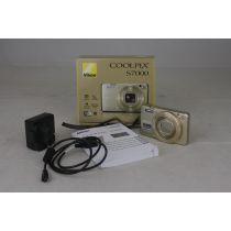 Nikon Coolpix S7000 Digitalkamera gebraucht (16 Megapixel)