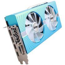 Sapphire Radeon RX 580 8GB GDDR5 Grafikkarte blau 1xDVI 2XDP 2xHDMI