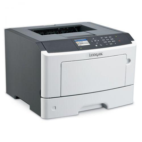 Lexmark MS510dn A4 Laserdrucker S/W unter 4.000 Seiten Toner über 20%
