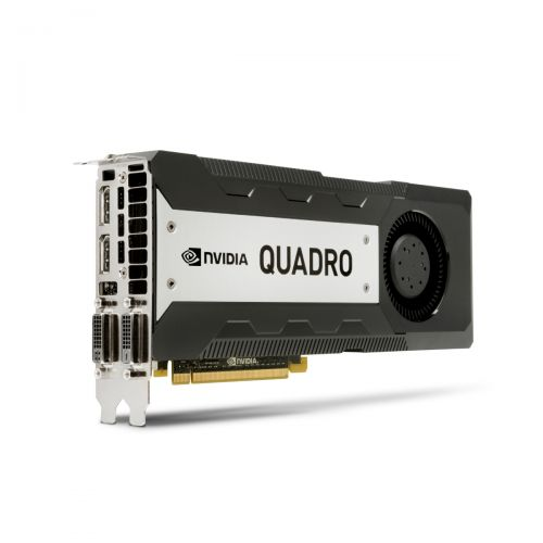 nVidia K6000 Grafikkarte 12GB GDDR5 PCI Express 3.0 x16 1x DVI-D 1x DVI-I 2x DP