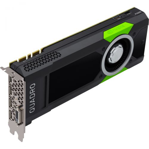 nVidia Quadro P5000 Grafikkarte 16GB GDDR5 PCI Express 3.0 x16 1x DVI-D 4x DP