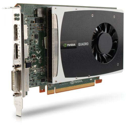 nVidia Quadro 2000 Grafikkarte 1GB GDDR5 PCI Express 2.0 x16 1x DVI-D 2x DP