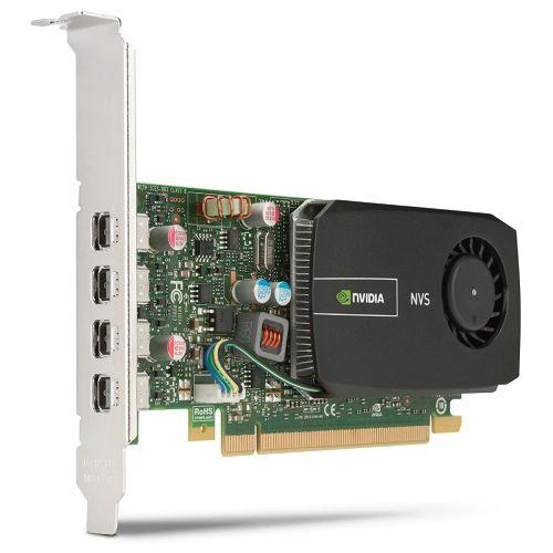 nVidia Quadro NVS 510 Grafikkarte 2GB DDR3 PCI Express 2.0 x16 3x DP