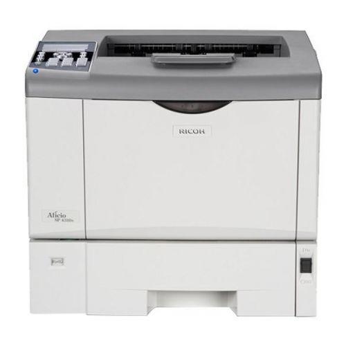 RICOH Aficio SP 4310N A4 Laserdrucker S/W unter 100.001 - 200.000 Seiten Toner über 21-50%