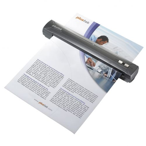 Plustek MobileOffice S400 A4 Mobiler Dokumentenscanner USB LAN A-Ware
